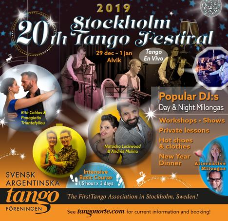 Tango Norte Kalendarium: STOCKHOLM TANGO FESTIVAL 2019